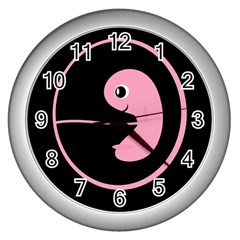 My baby Wall Clocks (Silver)