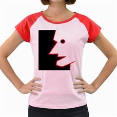 Man Women s Cap Sleeve T-Shirt