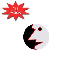 Man 1  Mini Buttons (10 pack)