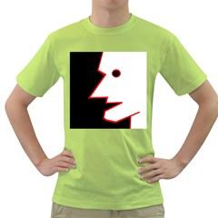 Man Green T Shirt