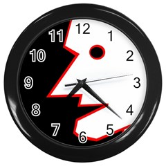 Man Wall Clocks (Black)