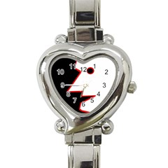 Man Heart Italian Charm Watch