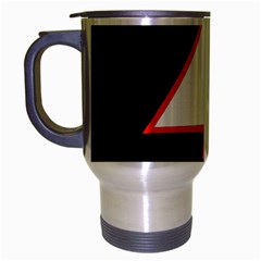 Man Travel Mug (Silver Gray)