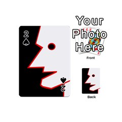 Man Playing Cards 54 (Mini)