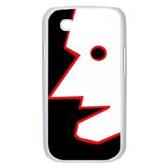 Man Samsung Galaxy S III Case (White)