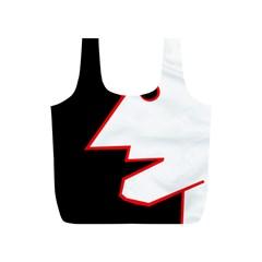 Man Full Print Recycle Bags (S)