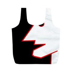 Man Full Print Recycle Bags (M)