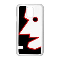 Man Samsung Galaxy S5 Case (White)