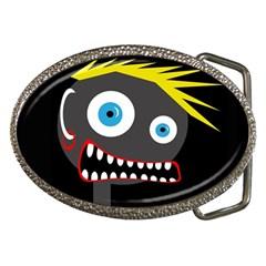Crazy man Belt Buckles