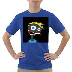 Crazy man Dark T-Shirt