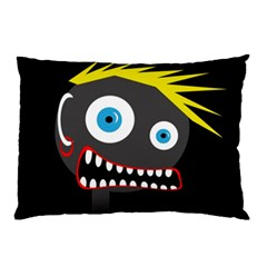 Crazy man Pillow Case