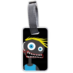 Crazy man Luggage Tags (Two Sides)