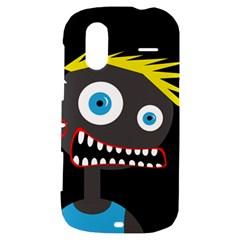 Crazy man HTC Amaze 4G Hardshell Case