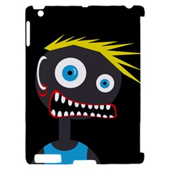 Crazy man Apple iPad 2 Hardshell Case (Compatible with Smart Cover)