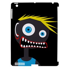 Crazy man Apple iPad 3/4 Hardshell Case (Compatible with Smart Cover)