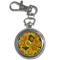 Brown pattern Key Chain Watches