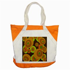 Brown pattern Accent Tote Bag