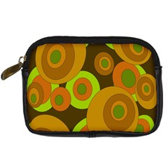Brown pattern Digital Camera Cases