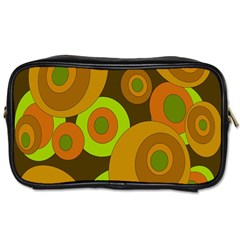 Brown pattern Toiletries Bags
