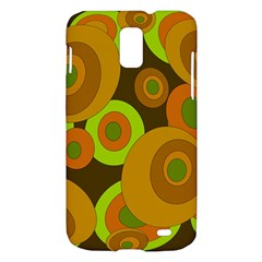 Brown pattern Samsung Galaxy S II Skyrocket Hardshell Case