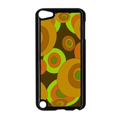 Brown pattern Apple iPod Touch 5 Case (Black)