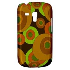 Brown pattern Samsung Galaxy S3 MINI I8190 Hardshell Case