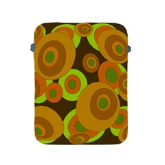 Brown pattern Apple iPad 2/3/4 Protective Soft Cases