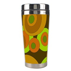 Brown pattern Stainless Steel Travel Tumblers