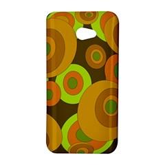 Brown pattern HTC Butterfly S/HTC 9060 Hardshell Case