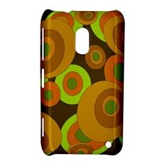 Brown pattern Nokia Lumia 620