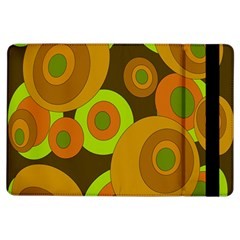 Brown pattern iPad Air Flip