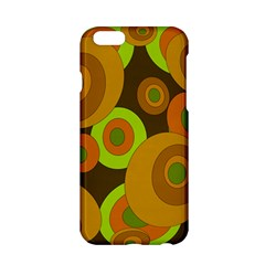 Brown pattern Apple iPhone 6/6S Hardshell Case