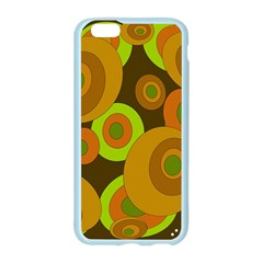 Brown pattern Apple Seamless iPhone 6/6S Case (Color)
