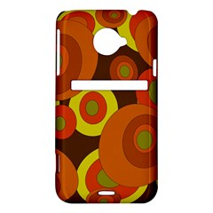 Orange pattern HTC Evo 4G LTE Hardshell Case