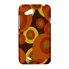 Orange pattern HTC Desire VC (T328D) Hardshell Case