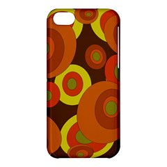 Orange pattern Apple iPhone 5C Hardshell Case