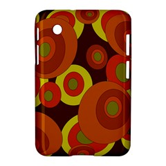 Orange pattern Samsung Galaxy Tab 2 (7 ) P3100 Hardshell Case