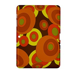 Orange pattern Samsung Galaxy Tab 2 (10.1 ) P5100 Hardshell Case