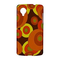 Orange pattern LG Nexus 5