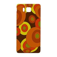 Orange pattern Samsung Galaxy Alpha Hardshell Back Case
