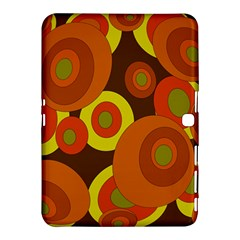Orange pattern Samsung Galaxy Tab 4 (10.1 ) Hardshell Case