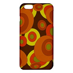 Orange pattern iPhone 6 Plus/6S Plus TPU Case