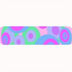 Pink pattern Large Bar Mats