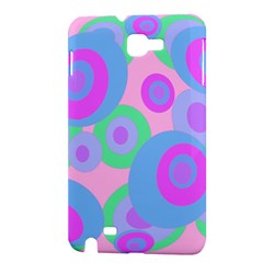 Pink pattern Samsung Galaxy Note 1 Hardshell Case