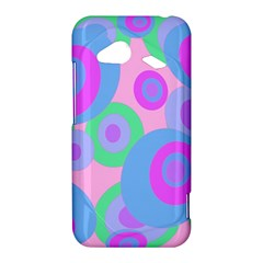 Pink pattern HTC Droid Incredible 4G LTE Hardshell Case