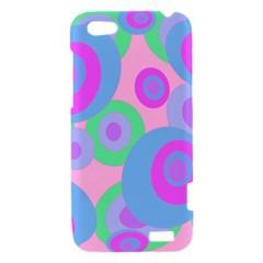 Pink pattern HTC One V Hardshell Case