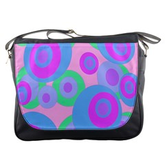 Pink pattern Messenger Bags
