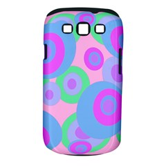 Pink pattern Samsung Galaxy S III Classic Hardshell Case (PC+Silicone)