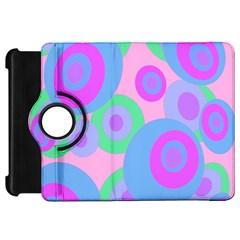 Pink pattern Kindle Fire HD Flip 360 Case