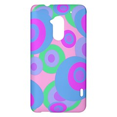 Pink pattern HTC One Max (T6) Hardshell Case
